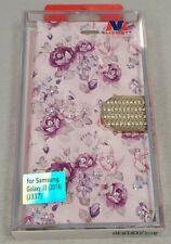 Samsung Galaxy J3 (2018)(J337) Wallet Protective Case - Floral - #21G