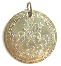 Schutzamulett St.Georg der Drachentöter, Schutzpatron IN TEMPESTATE SECURITAS
