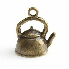 20x 143438 Hotsale Charms Teapot Antique Bronze Alloy Pendants Jewelry Findings