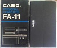 Casio FA-11 Personal Computer -BRAND NEW IN case and box