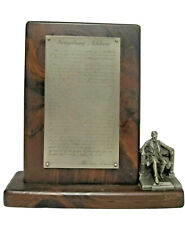 New ListingSebastian Miniature Pf-024 Lincoln's Gettysburg Address Memorial Pewter Rare