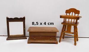 lot objets pour enfant, miniature,maison de poupée,vitrine, meuble  OCC2