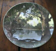 Royal Doulton Collectors Plate Murray River Gums Australia  D6425