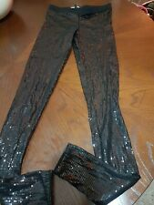 Women's ASOS  Sequin Full Lenght Leggings Uk 6