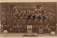 Soldier group Queens Royal West Surrey Regiment Regimental Band 1920