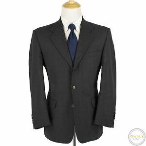 Fioravanti Grey Worsted Wool Lined MiUSA 3Btn Suit 42R