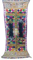 Antique Indian Traditional Kutch Rabari Banjara Gypsy Trible Embroidery Shawl