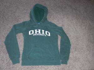 OHIO UNIVERSITY green CHAMPION Hoodie sweatshirt youth XS /Small