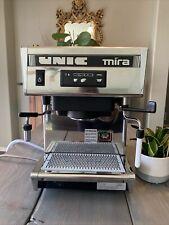 Unic Mira Single Group High Profile Automatic Espresso Machine Unused