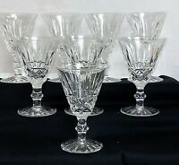 """8 WATERFORD CRYSTAL *TRAMORE*  5"""" WINE GOBLETS"""