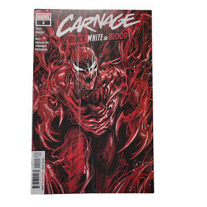 Carnage Black White & Blood #2 Cover A Regular Marco Checchetto Cover 2021