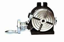"6"" Rotary table 4 SLOT Horizontal & Vertical Precision Quality."