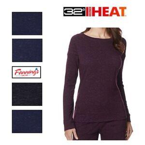 SALE 32 Degrees Ladies' Soft Fleece Top Shirt Cozy Women's SIZE & COLOR D34