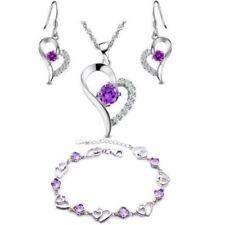 Urlaub Modeschmuck-Halsketten & -Anhänger mit Herz-Schliffform für Damen
