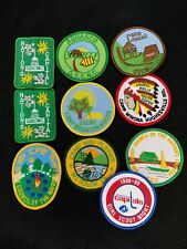 LOT OF VINTAGE NATION'S CAPITAL GIRL  SCOUT COUNCIL & CAMP PATCHES