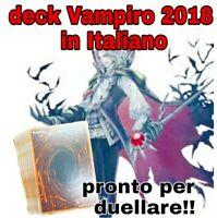 Yu-Gi-Oh! Deck Mazzo Completo - Vampiro 2018 - Vampire - Pronto per Duellare