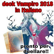 Yu-Gi-Oh! Baraja Completo - Vampiro 2018 - Vampire - Listo Para Duellare