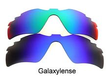 Galaxy Replacement Lenses For Oakley Radar Path Vented Blue/Green Polarized