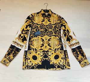 Versace Barocco SS'92 Silk Shirt for Men