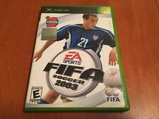 FIFA Soccer 2003 EA sports Xbox video game complete Tested