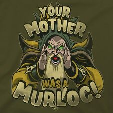 Official - Hearthstone - Evil Heckler T-Shirt - S - YOUR MOTHER WAS A MURLOC!