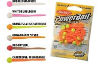 "Berkley Powerbait 3"" Floating Mice Tail Lures/Bait – Trout & Perch Fishing 13/P"