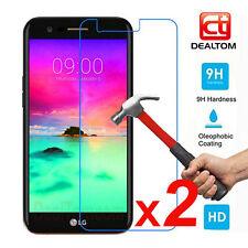 2Pcs 9H Premium Tempered Glass Screen Protector Film For LG K3 K4 K5 K8 K10 2017