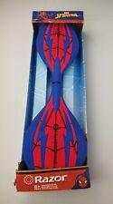 Razor Marvel Spiderman Ripster Ripstik Caster Board Skateboard New