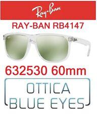 Occhiali da Sole RAY BAN SUNGLASSES RB 4147 632530 RAYBAN TRASPARENT NEW COLOR