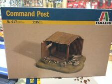 KIT MAQUETA COMMAND POST PUESTO DE VIGILANCIA 1:35 ITALERI 417
