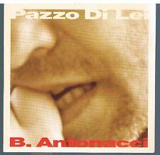 BIAGIO ANTONACCI PAZZO DI LEI CD SINGOLO cds SINGLE PROMO