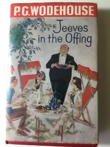 P.G. Wodehouse JEEVES IN THE OFFING 1st ed 1960 VG/VG, rare title page mistake