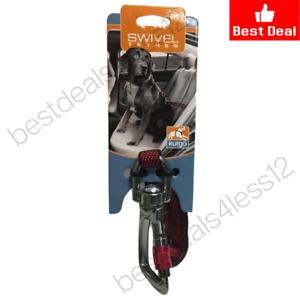 Kurgo Swivel Dog Tether and Dog Seat Belt