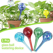 Plant Watering Spheres Globes 1pc Outdoor Garden Pot Waterers Glass Colourful