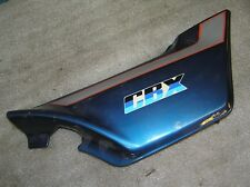 HONDA CBX 1000 sc06 pages Couvercle Droit Right sidecover