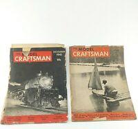 The Model Craftsman Magazines Lot of 2 September 1944 December 1945 Trains