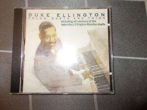 DUKE ELLINGTON Solos, Duets & Trios CD