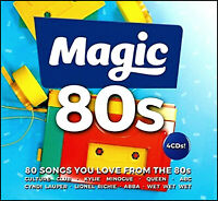 80 Greatest Hits of the 80's * New 4-CD Boxset * All Original EIGHTIES Hits *NEW