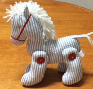 Jointed pony /horse toy
