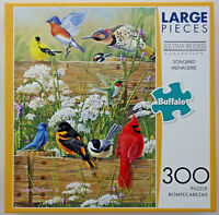 jigsaw puzzle 300 XL pc Hautman Brothers Songbird Menagerie Buffalo Games