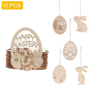 Cute Wooden Easter Bunny Wooden Tree Decoration Easter Tree Decoration