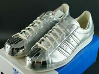 ADIDAS SUPERSTAR 80s METALLIC PACK MT TOE SIZE UK 11 EU 46 LIMITED EDITION OG DS
