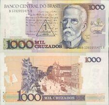 BRASILE 1000 CRUZADOS 1989 FDS UNC MOLTO RARA