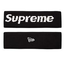 🔴 Black Supreme Headband Sweatband For Men Women Boys Kids Basketball Running🔴