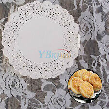 180Pcs/Bag Round Paper Lace Doilies Wedding Cake Coasters Decor Favour Craft Hot