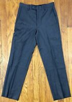 Michael Kors Boys Dress Pants Actual Size 26x26 Wool Black