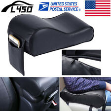 US Universal Car Armrest Box Mats PU Leather Mat Liner Console Pad Cushion Cover
