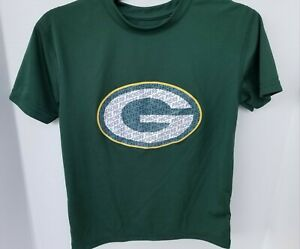 NEW NFL GREEN BAY PACKERS Short Sleeve Stretch Knit Shirt Youth Size 7
