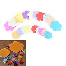 44pcs 11ColorsPaper Quilling Flower Rose Paper Handmade Material Accessorie HO