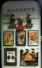 Fridge Shaped Magnet Board Display Stand/ Standee.